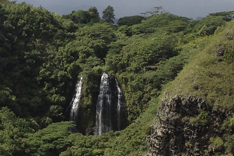 Kaui waterfall